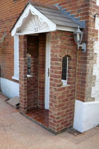 Brick Porch